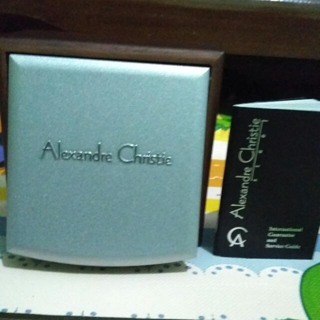 Alexandre Christie Classic Steel Black Original