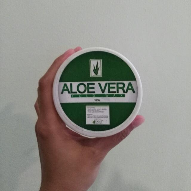 (ALL MUST GO!!!) Aloe Vera Organic Cold Wax By ESME