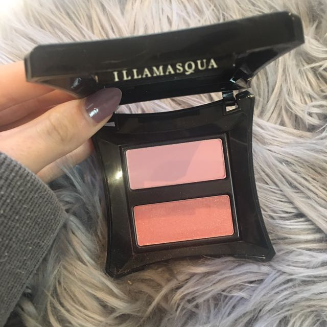 Authentic Illamasqua Blush Duo