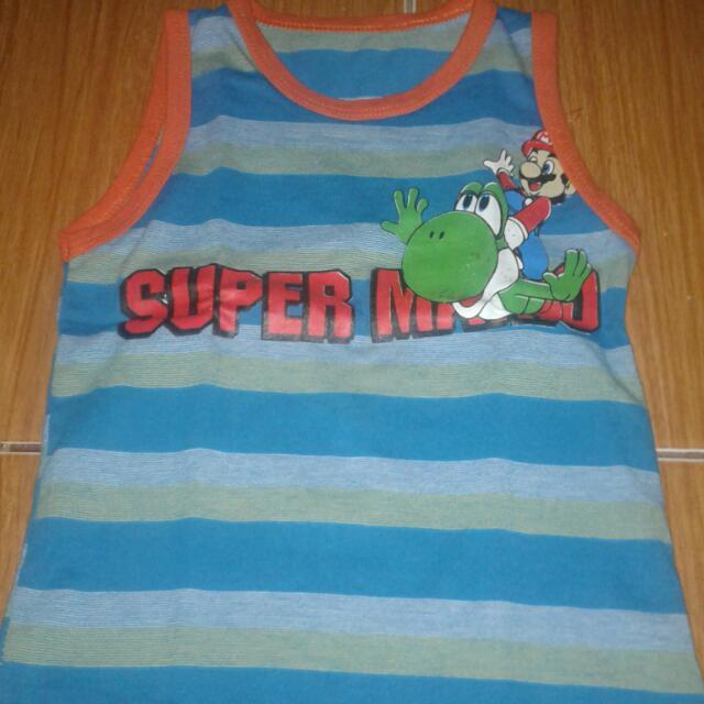 Baju Super Mario