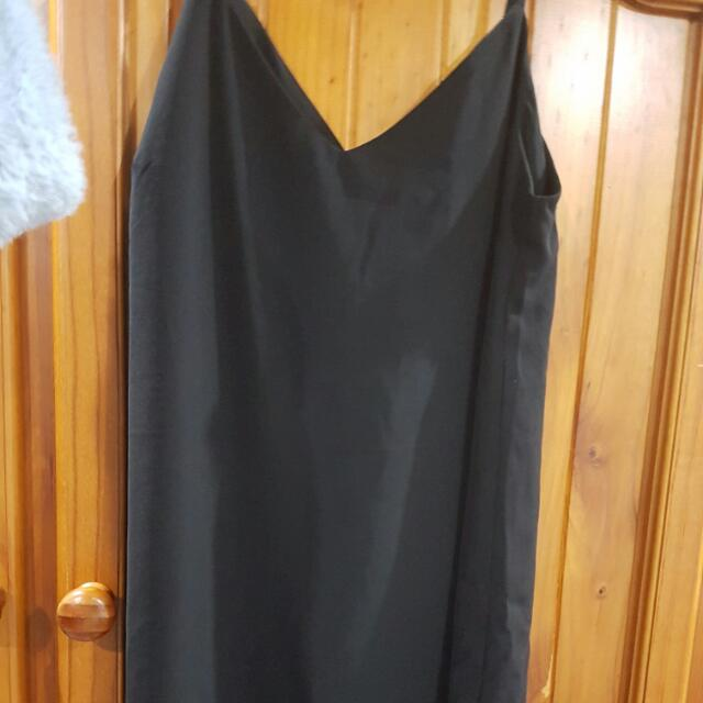 Balck Slip Dress