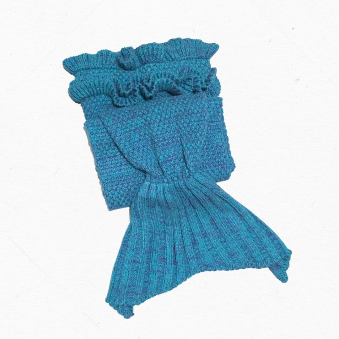 BASIC BEACH Mermaid Tail Blanket (Kids)