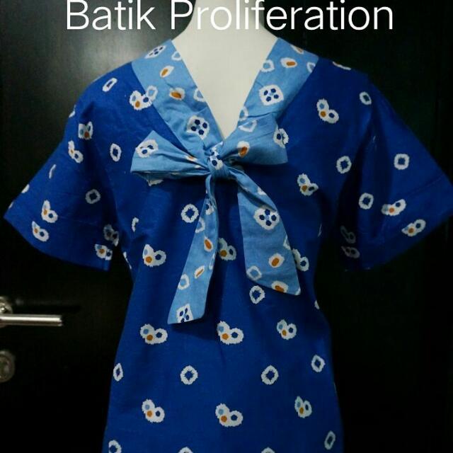Batik Jumputan Blouse