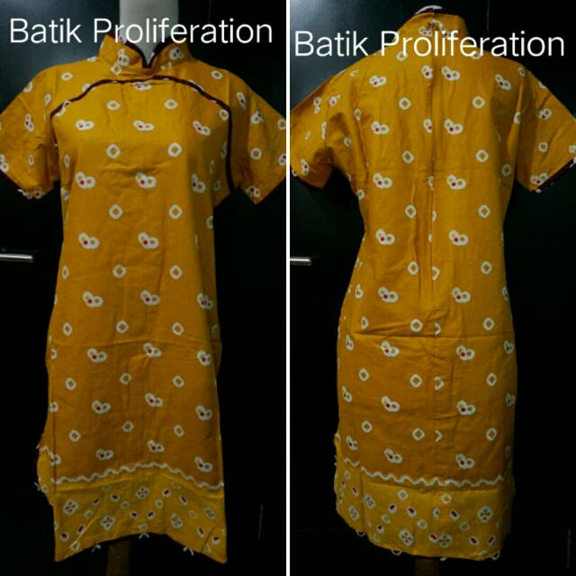 Batik Jumputan Dress / Tunic
