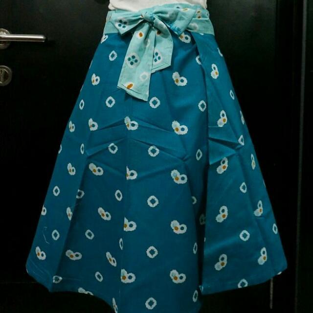 Batik Jumputan Skirt