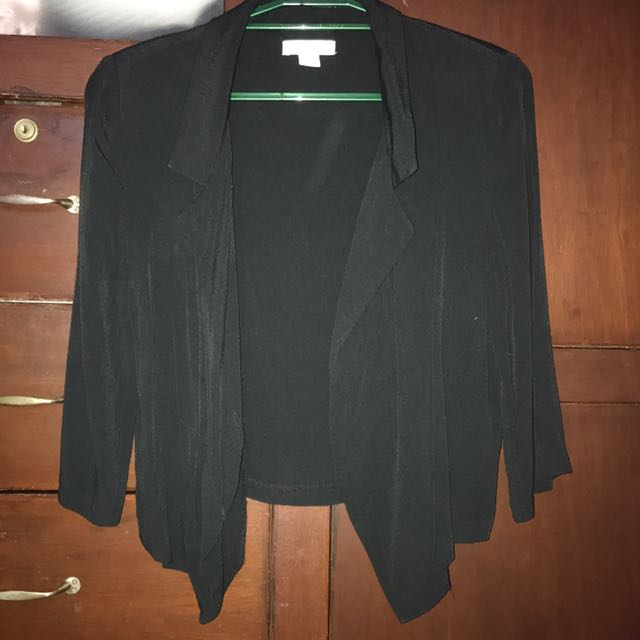 Black Cotton On Cover-Up