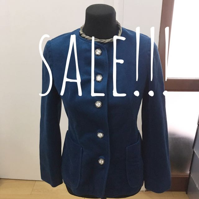 Blue Trench / Coat