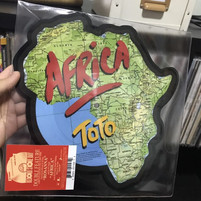 *BRAND NEW/UNPLAYED* Toto - Africa/Rosanna Single, Record Store Day 2017