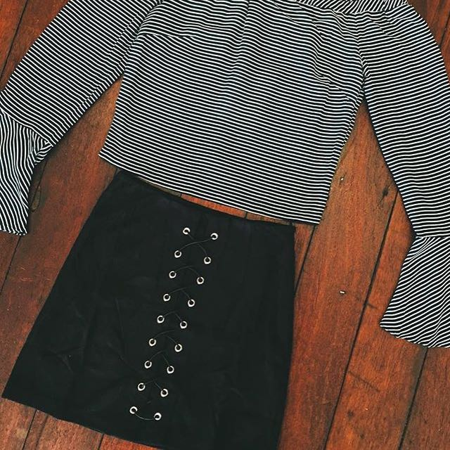 Bronze Snake Shop Skirt