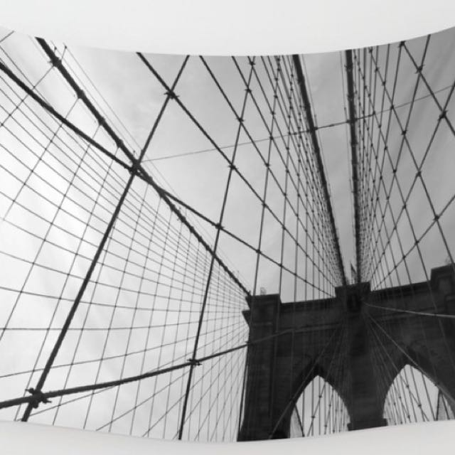 Brooklyn Bridge Wall Tapestry Artwork