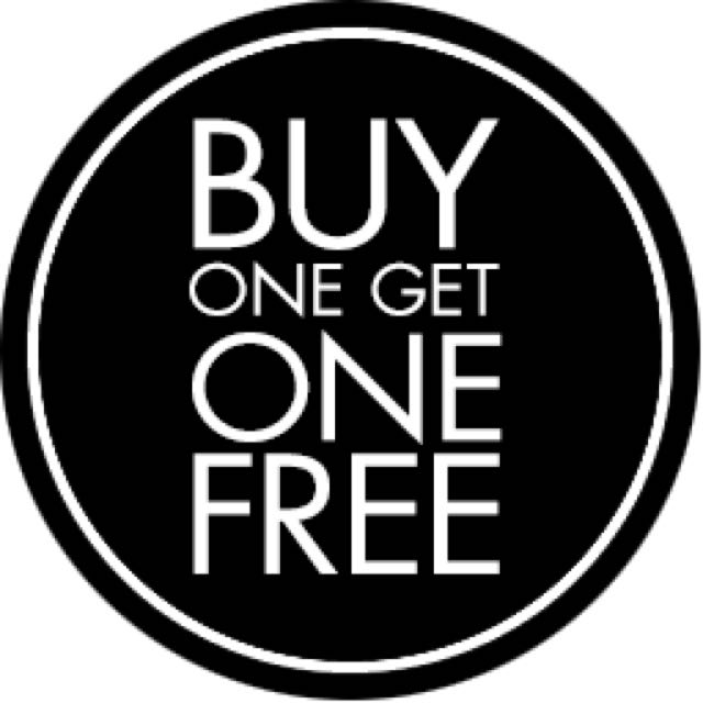 Buy One Get One Free...