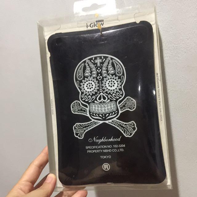 Casing iGlow Skull iPad Mini