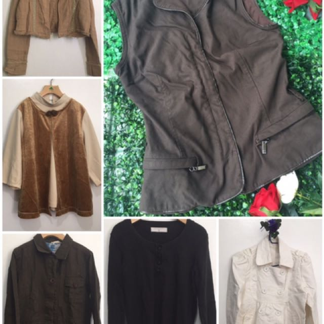Clearance Sale!! Get All 6! Assorted Jackets