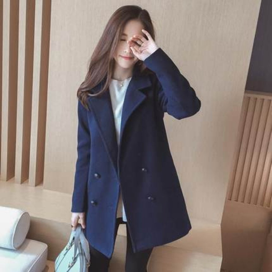 coat korea fashion blazer luaran outer dress jaket baju wanita import 3485c3e943