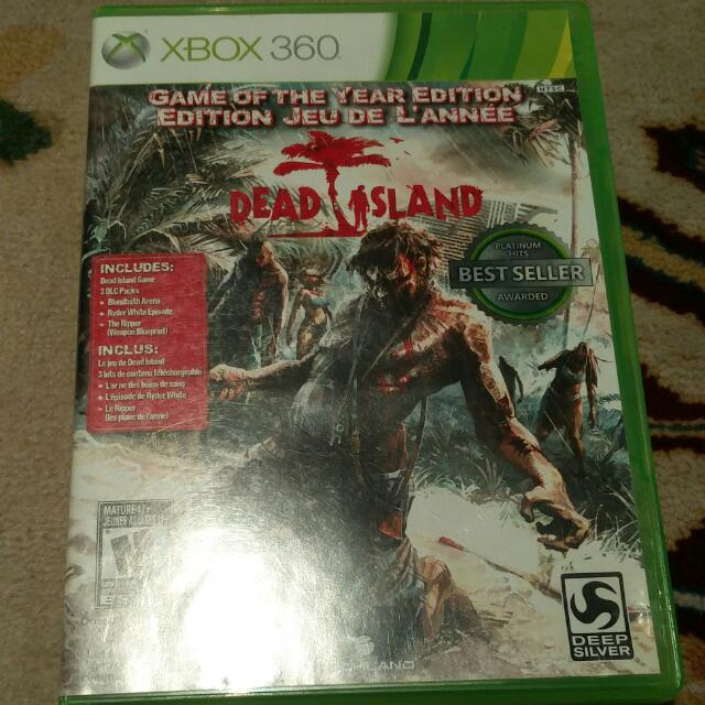 Dead Island Game Of The Year Edition For Xbox 360
