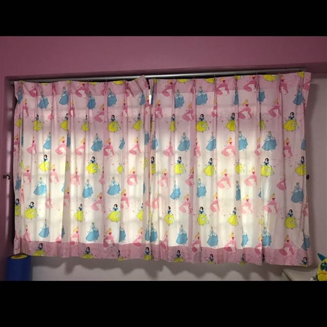 Disney Princess Curtain