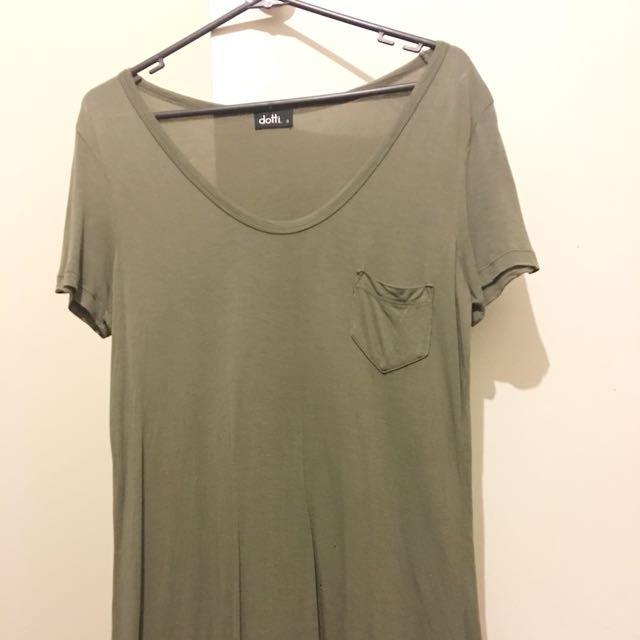 Dotti Khaki T Shirt