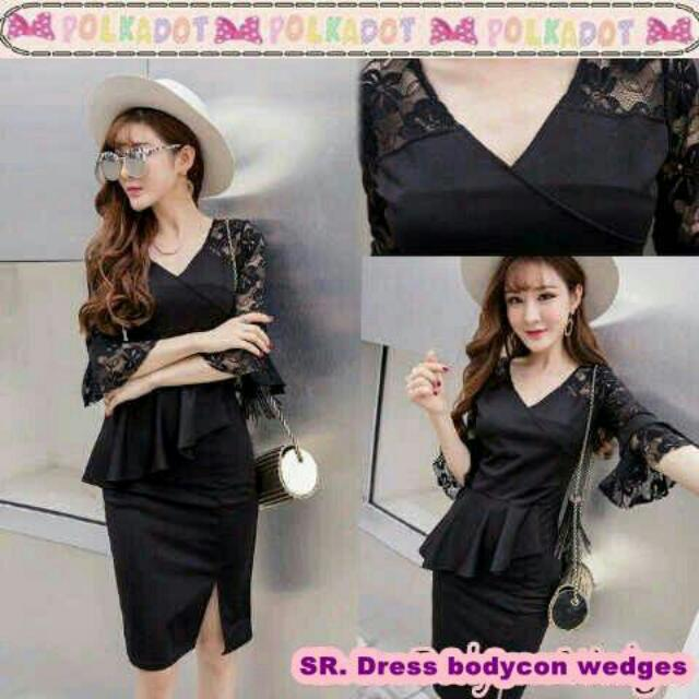 Dress Bodycon Wedges