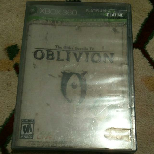 Elder Scrolls IV Oblivion For Xbox 360