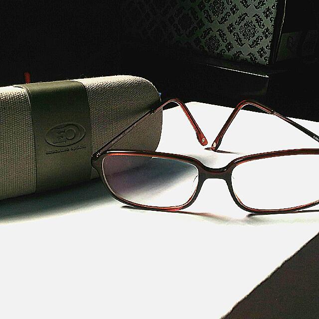 EO Anti Radiation Glasses Lens  Left .75 Right .75