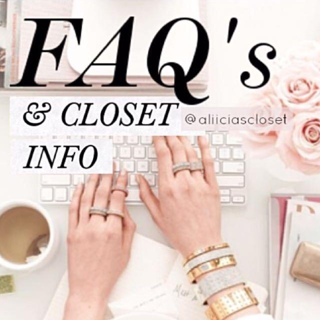 FAQ's & Info