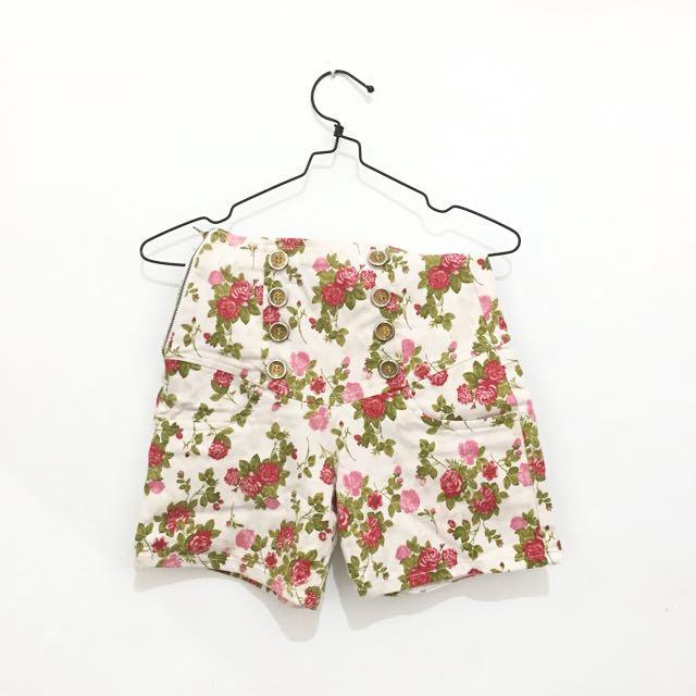 Floral HW Short