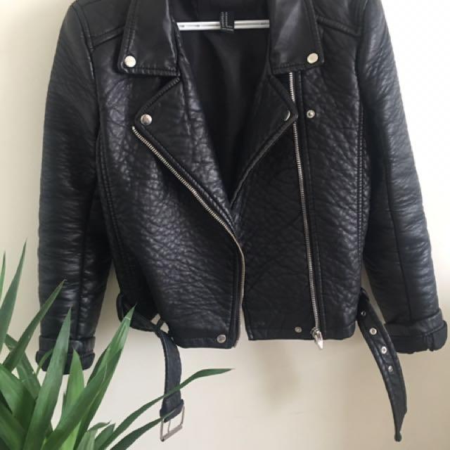 Forever 21 Moto jacket (size m)