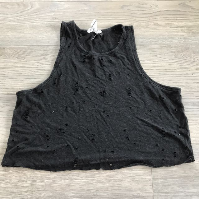 Forever 21 Ripped Tank