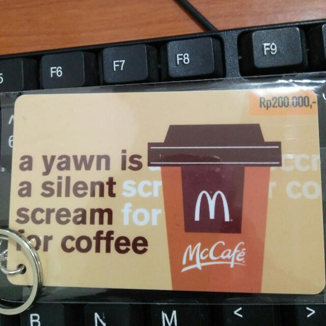 Gift Card Mc Donalds Saldo 200.000