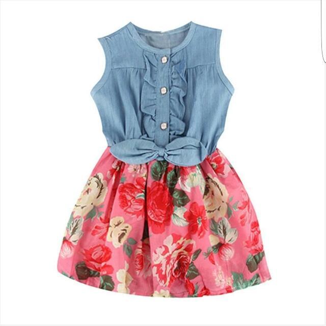 *Brand New* Girls Dress - Floral