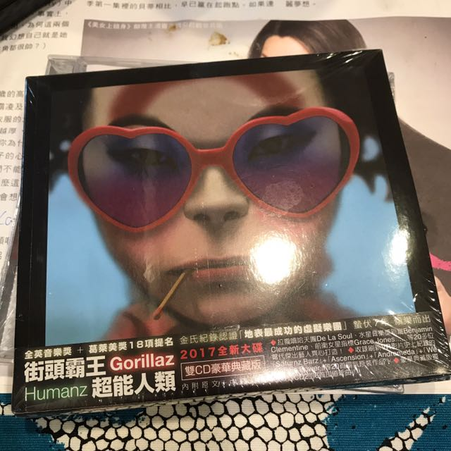 Gorillas 街頭霸王 超能人類CD