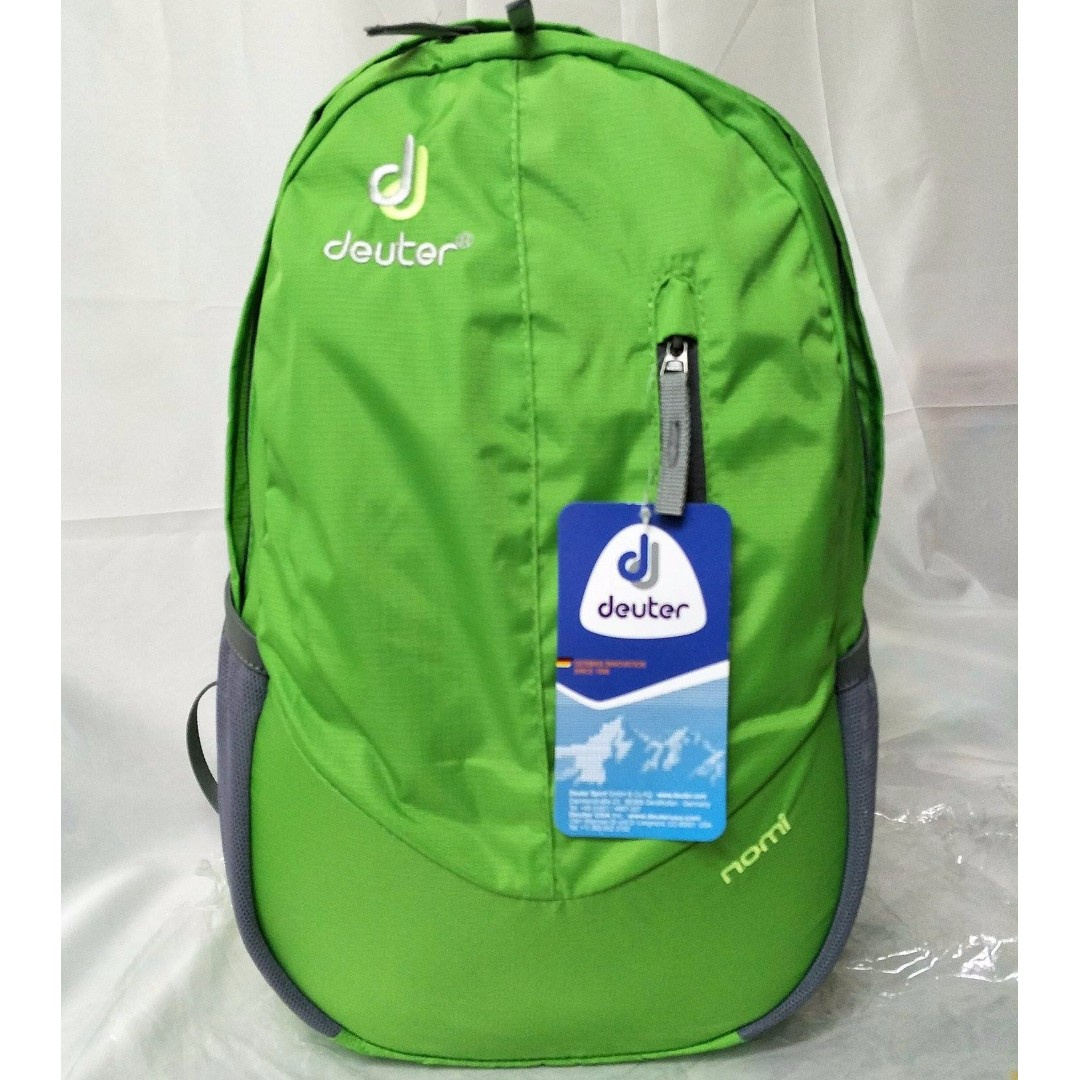 Green Deuter Nomi Backpack