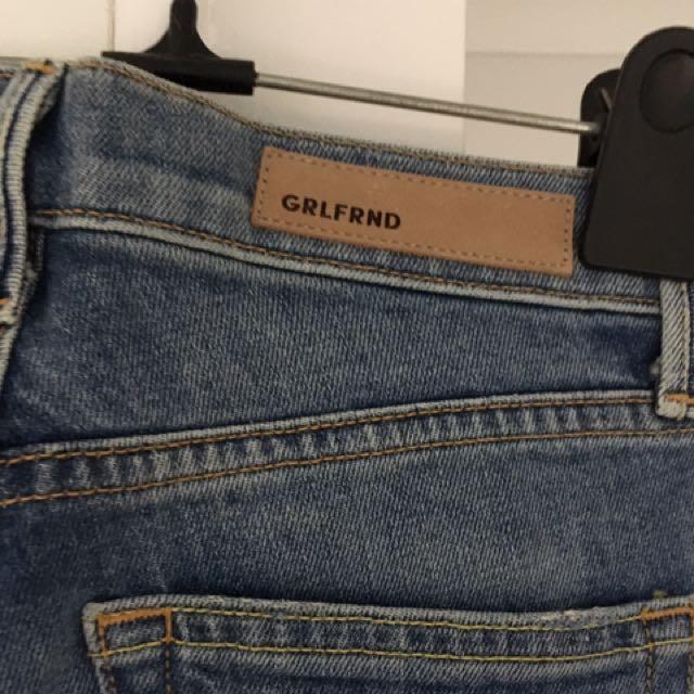 GRLFRND Skiny Jeans