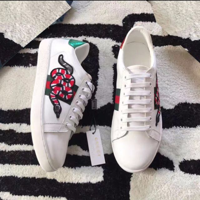 0c2717fa8 Gucci Ace Embroidered Low Top Sneaker, Women's Fashion, Shoes on ...