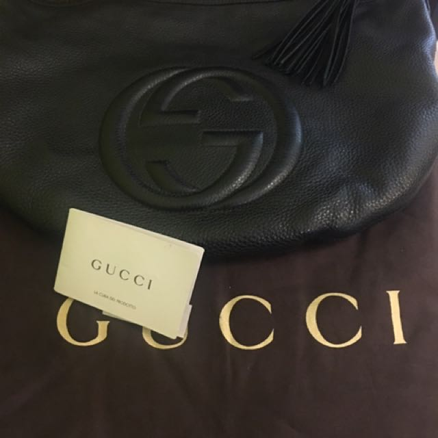 gucci leather bag
