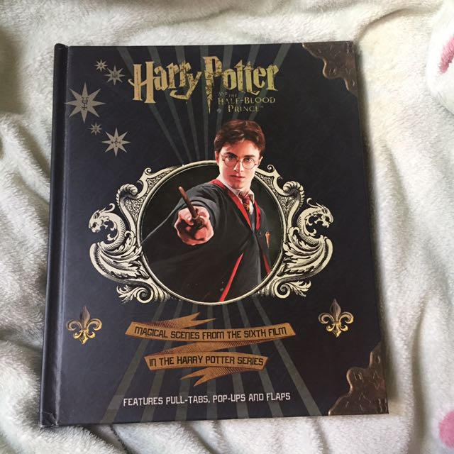 HARRY POTTER AND THE HALF BLOOD PRINCE POP UP BOOK