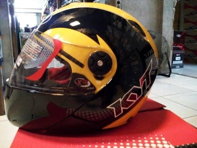 Helm Kyt X Rocket Retro Aksesoris Mobil Di Carousell