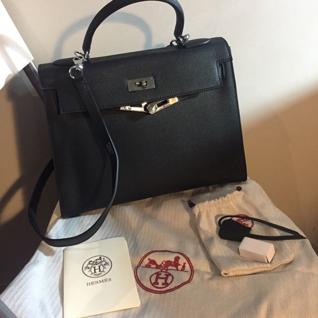 Hermes Kelly 32 Epsom Leather Bag