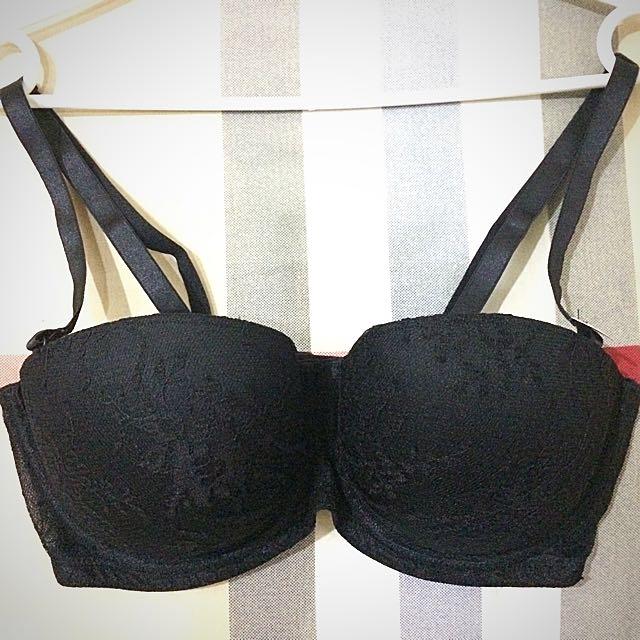 H&M Strapless Bra Size 34D Original