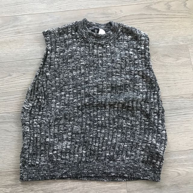 H&M Sweater Neck Tank