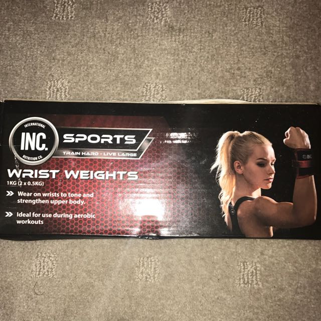 INC Wrist And Ankle Weights Adjustable
