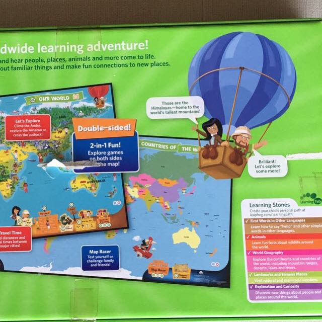 Interactive world map toys games board games cards on carousell photo photo photo photo gumiabroncs Image collections