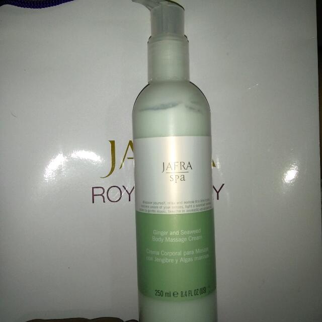JAFRA Body Massage Cream