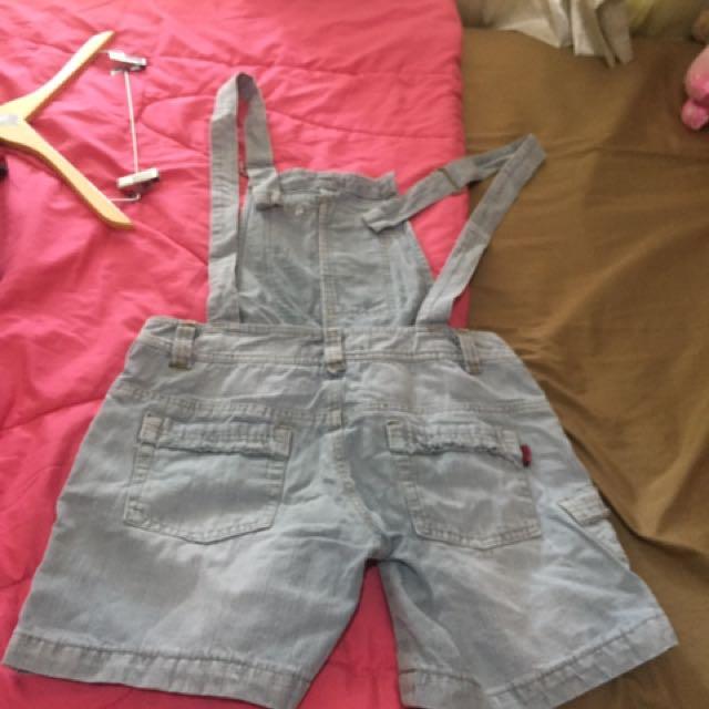 Jeans Overall Pants / Terusan Celana Denim