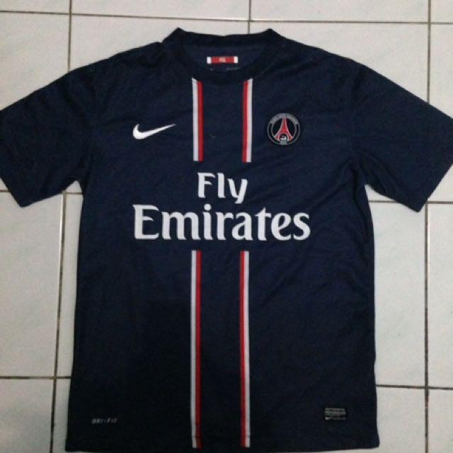 Jersey PSG 2012-1013 (Biru Tua)