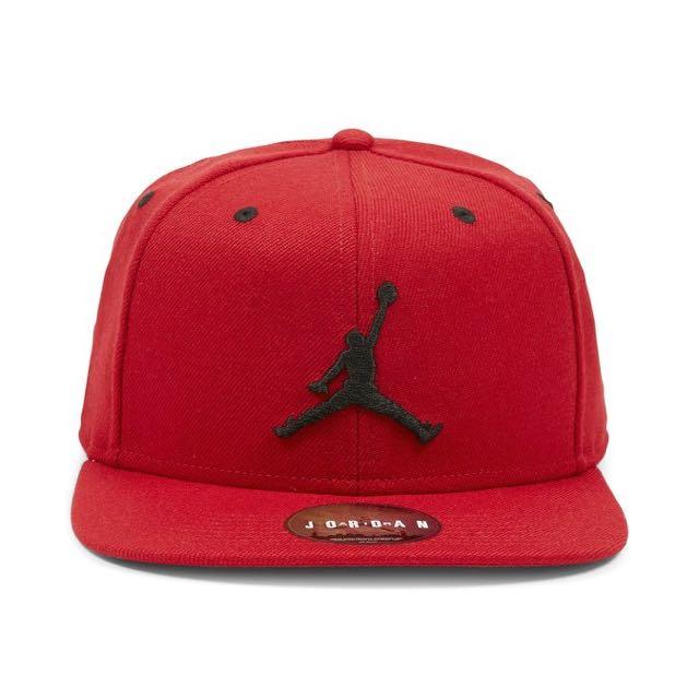 Repriced! Jordan Snapback Red