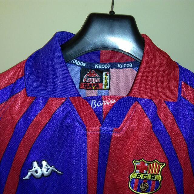 cheap for discount 288d5 bbf90 Kappa FC Barcelona Jersey