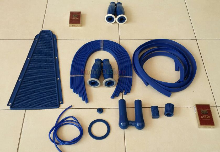 Karet set bodi VESPA VBB, VNB3-5 (THAILAND), Auto Accessories on