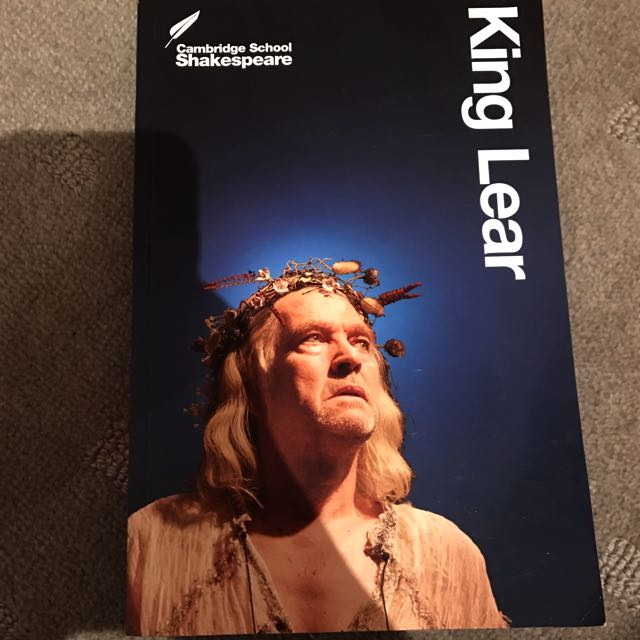King Lear - Shakespeare Play Book