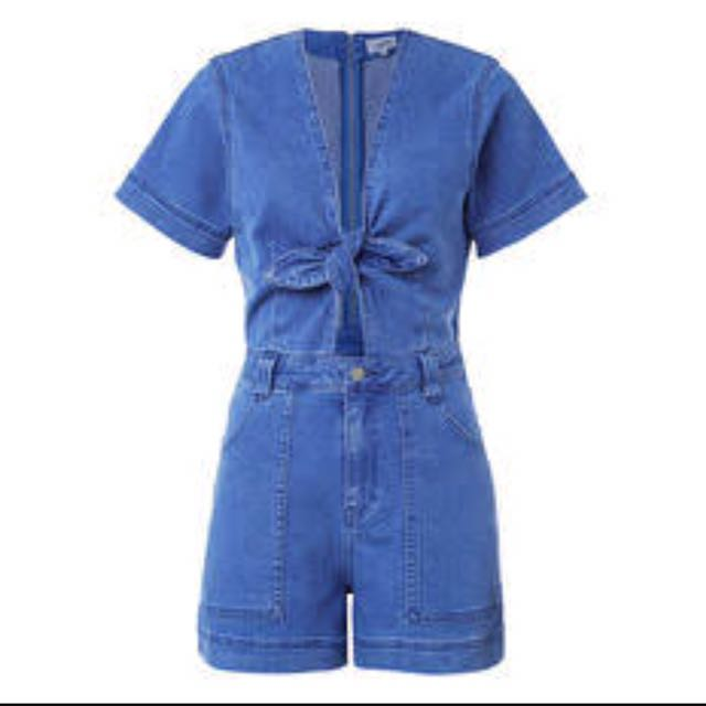 Kookai Denim Play suit